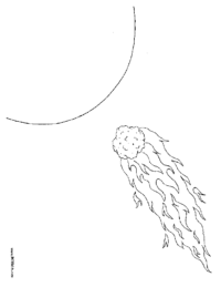 Asteroid Coloring Page