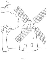 Windmill & Silo