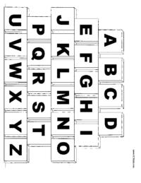 Alphabet Blocks Colorinig